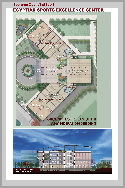 Sports facilities for Sports complex planning design